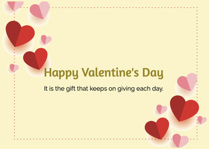 valentine card 378 envelope greeting card