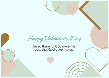 valentine card 382 text paper