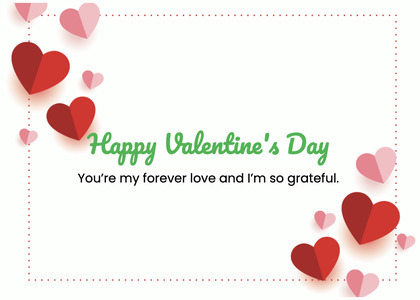 valentine card 386 heart greeting card