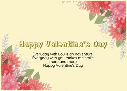 valentine card 389 floraldesign graphics