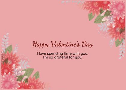 valentine card 391 floraldesign graphics