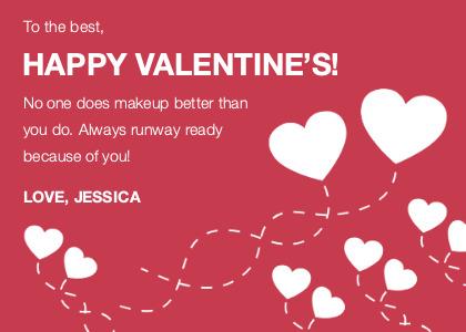 valentine card 4 text advertisement