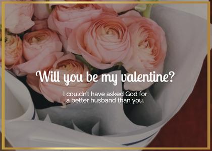 valentine card 40 plant person