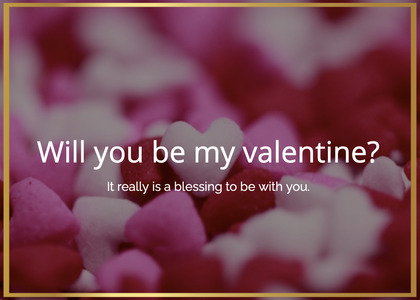 valentine card 45 sweets confectionery