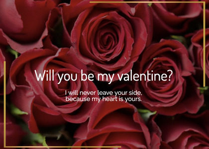 valentine card 48 rose plant
