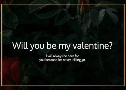 valentine card 54 plant vegetation