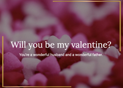 valentine card 57 sweets confectionery