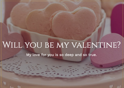 valentine card 60 sweets confectionery