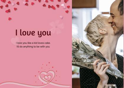 valentine card 68 person human