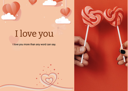 valentine card 70 lollipop food