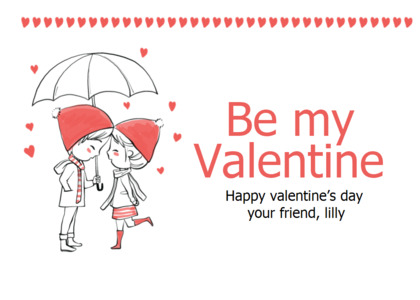 valentine card 8 clothing text