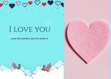 valentine card 81 greeting card mail