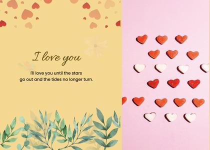 valentine card 84 paper advertisement