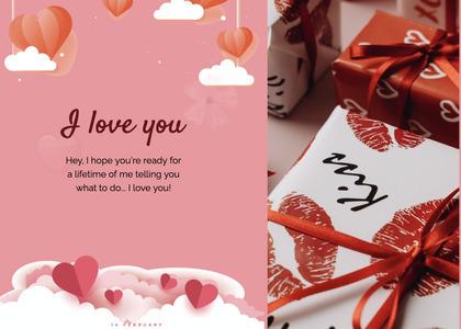 valentine card 85 paper flyer