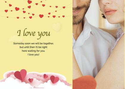 valentine card 86 paper person