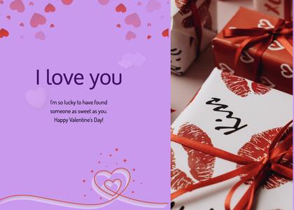 valentine card 87 paper text