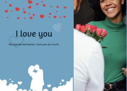 valentine card 88 person human