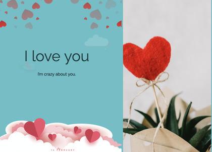 valentine card 93 envelope mail