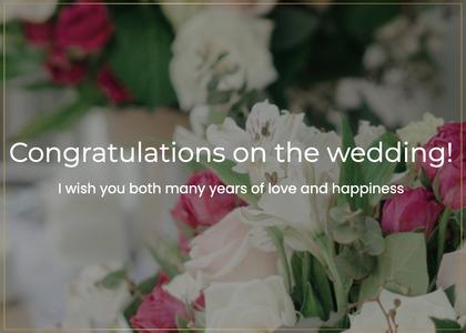 wedding card 102 plant floraldesign