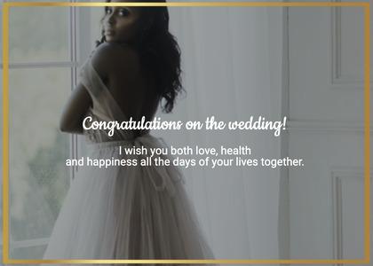 wedding card 107 clothing female