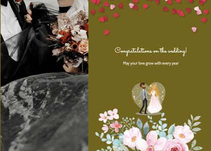 wedding card 109 envelope mail