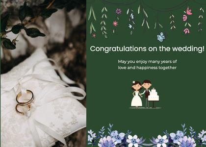 wedding card 111 homedecor plant
