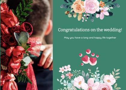 wedding card 114 envelope mail