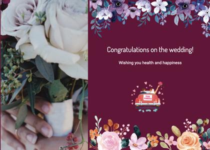 wedding card 120 plant envelope