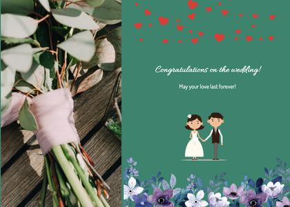 wedding card 124 envelope mail