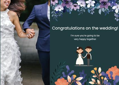 wedding card 129 clothing person