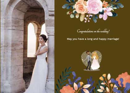 wedding card 139 clothing person