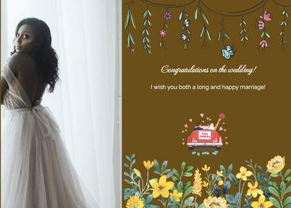 wedding card 143 clothing person