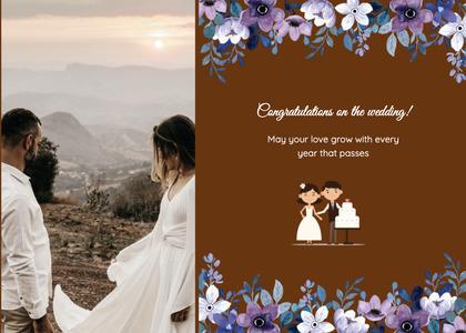 wedding card 144 person human