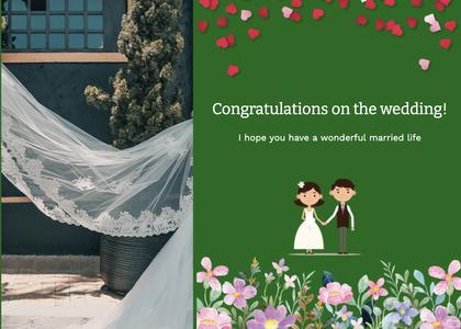 wedding card 147 clothing apparel