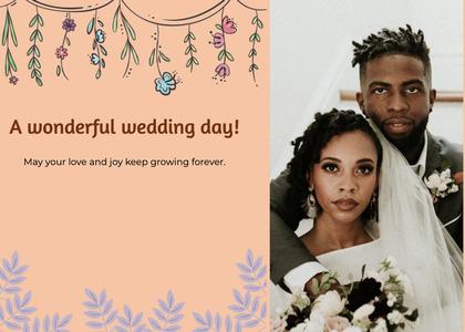 wedding card 154 person clothing