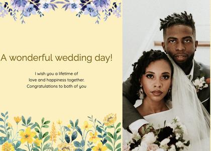 wedding card 158 person human