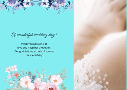 wedding card 160 person human