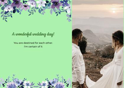 wedding card 164 clothing person