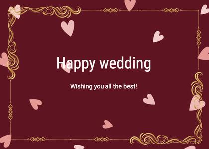 wedding card 17 text poster