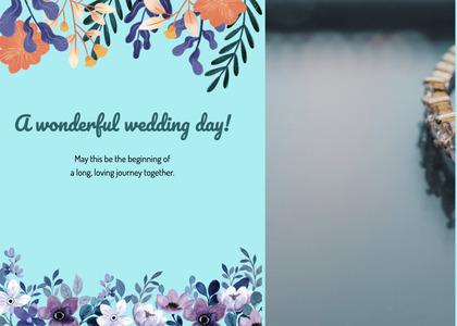 wedding card 172 poster advertisement