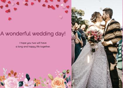 wedding card 175 clothing apparel