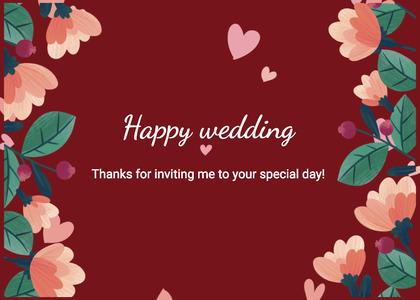 wedding card 19 envelope mail