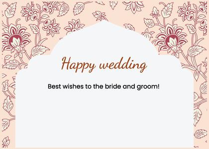 wedding card 191 floraldesign graphics