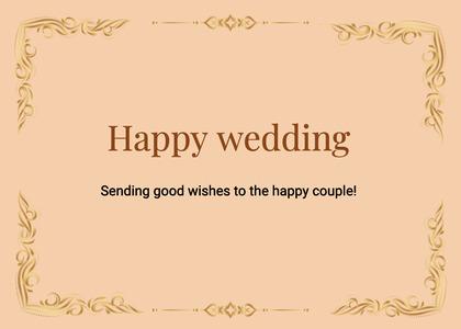 wedding card 192 text business card