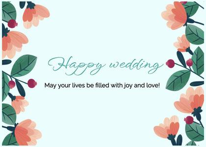 wedding card 202 graphics art