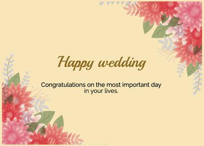 wedding card 204 envelope mail