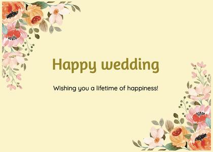 wedding card 207 graphics art