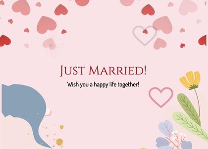 wedding card 227 paper flyer
