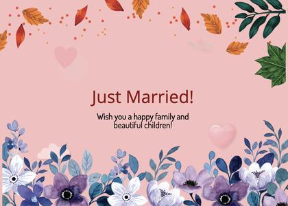 wedding card 230 envelope mail