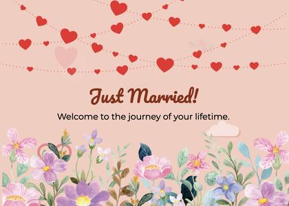 wedding card 232 menu text